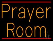 Orange Prayer Room LED Neon Sign