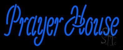 Prayer House LED Neon Sign
