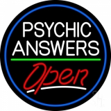 Psychic Answers Open LED Neon Sign