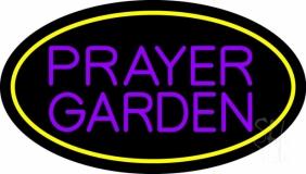 Purple Prayer Garden LED Neon Sign