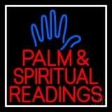 Red Palm And Spiritual Readings LED Neon Sign