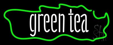 Green Tea Horizontal LED Neon Sign