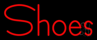 Red Shoes LED Neon Sign