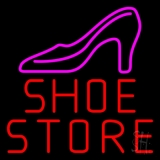 Red Shoe Store LED Neon Sign
