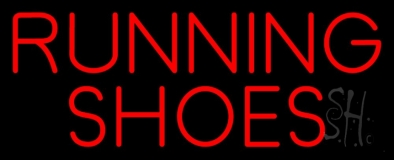 Running Shoes LED Neon Sign