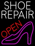 Shoe Repair With Sandal Open LED Neon Sign