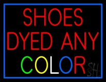 Shoes Dyed And Color LED Neon Sign