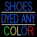 Shoes Dyed And Color With Line LED Neon Sign