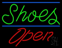 Shoes Open LED Neon Sign