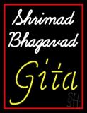 Shrimad Bhagavad Gita With Border LED Neon Sign