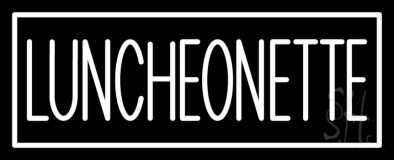 Luncheonette Double Stroke LED Neon Sign