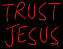Trust Jesus LED Neon Sign