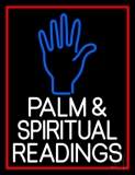 White Palm And Spiritual Readings LED Neon Sign
