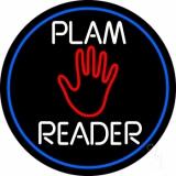 White Palm Reader LED Neon Sign