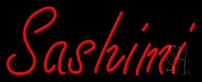 Red Sashimi LED Neon Sign