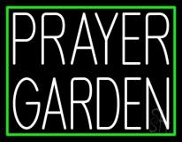 White Prayer Garden LED Neon Sign