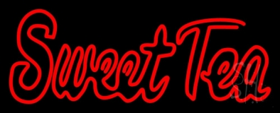 Red Sweet Tea LED Neon Sign