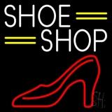 White Shoe Shop LED Neon Sign
