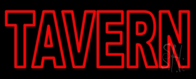 Red Tavern LED Neon Sign