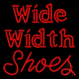 Wide Width Shoes LED Neon Sign