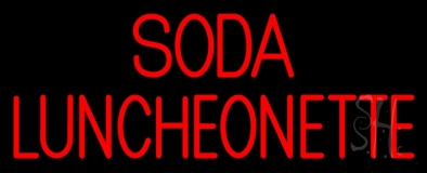 Soda Luncheonette LED Neon Sign
