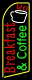 Red Breakfast And Green Coffee LED Neon Sign