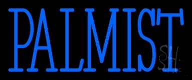 Blue Palmist Block Neon Sign