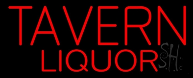 Tavern Liquor LED Neon Sign