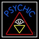 Blue Psychic Logo LED Neon Sign
