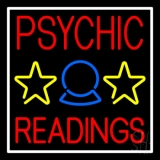 Blue Psychic Readings LED Neon Sign