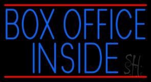 Box Office Inside LED Neon Sign