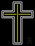 Cross LED Neon Sign