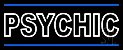 Double Stroke Psychic LED Neon Sign