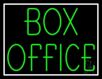 Green Box Office LED Neon Sign