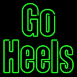 Green Go Heels LED Neon Sign