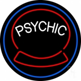 Green Psychic Logo LED Neon Sign