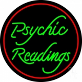 Green Psychic Readings LED Neon Sign