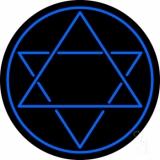 Judaism Star Of David LED Neon Sign