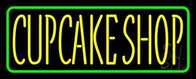 Block Cupcake Shop LED Neon Sign