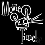 Movie Time LED Neon Sign