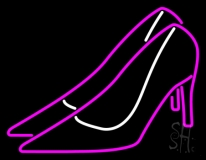 Pink High Heels LED Neon Sign