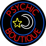 Red Psychic Boutique LED Neon Sign