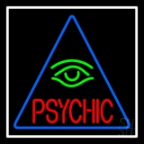 Red Psychic Green Eye LED Neon Sign