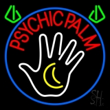 Red Psychic Palms LED Neon Sign