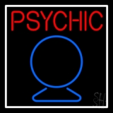 Red Psychic With Crystal LED Neon Sign