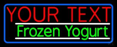 Custom Made Frozen Yogurt LED Neon Sign