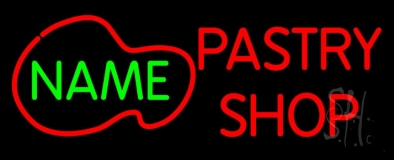 Custom Pastry Shop LED Neon Sign
