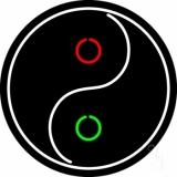 Taoist Symbol LED Neon Sign