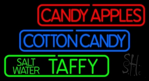Double Stroke Red Candy Apples LED Neon Sign