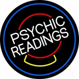 White Psychic Readings Crystal LED Neon Sign